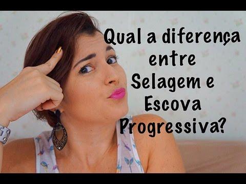 37f1a6557 Qual a diferença entre Selagem e Escova Progressiva? - YouTube