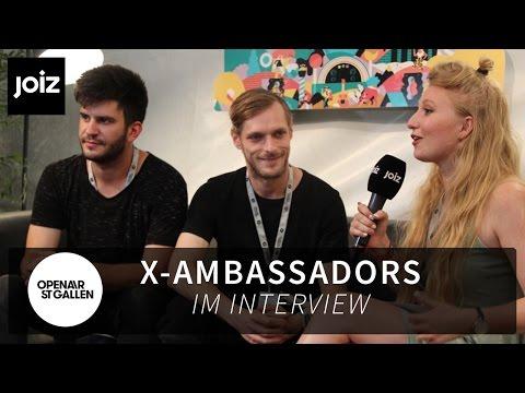 X-Ambassadors hatten den schlechtesten Festivalsommer EVER