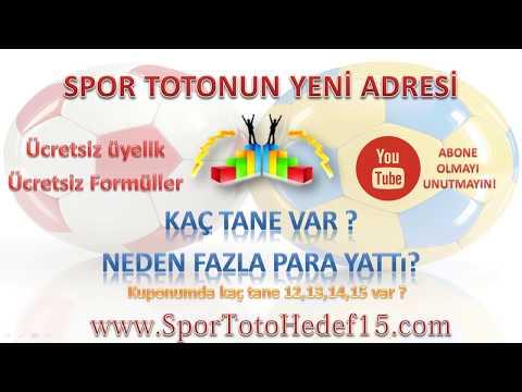 Spor Toto İkramiye,Kazanç Nasıl Hesaplanır? Kuponumda Kaç Tane 12,13,14,15 var?