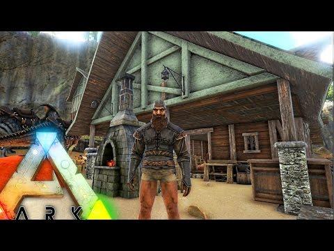 ARK Survival PLUS - I WAS ROBBED, BLACKSMITHING PROFESSION, BECOMING A MASON & EPIC BASE Gameplay E3
