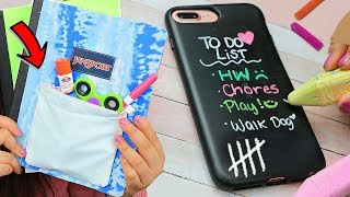 DIY Weird Back To School Supplies HACKS YOU NEED TO TRY!