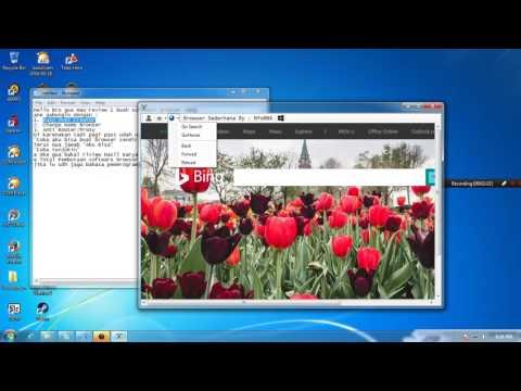 Browser Sederhana + Easy Html Creator