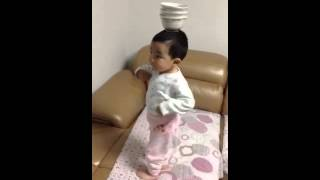 Baby dancing for tamil song
