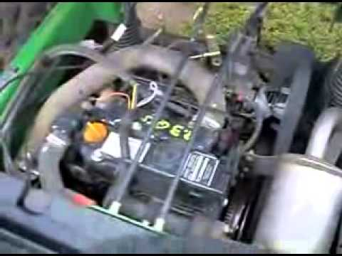 cold start john deere gator hpx 4x4 2006 youtube. Black Bedroom Furniture Sets. Home Design Ideas