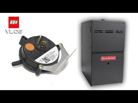 How to fix a Goodman Furnace Pressure Sensor Switch - 3 ...