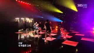 CL & Minzy - Please Don't Go (INKIGAYO 2009-12-13)