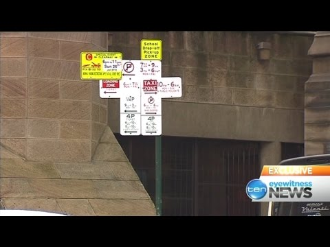 Complicated parking signs