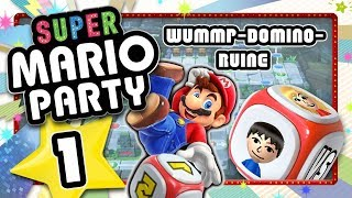 SUPER MARIO PARTY # 1: Back to the Roots - Classic party in the Whomp's Domino Ruins