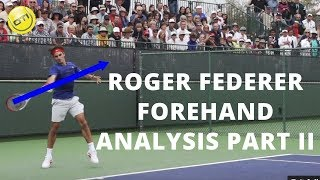 Roger Federer Forehand Analysis Part 2