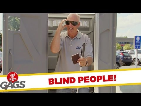Blind People Pranks - Best of Just For Laughs Gags