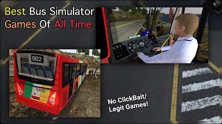 Top 11 Bus Simulator Games 2019 (iOS/Android)