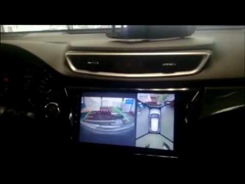 Работа кругового обзора на Nissan X trail T32 от компании DAYSTAR