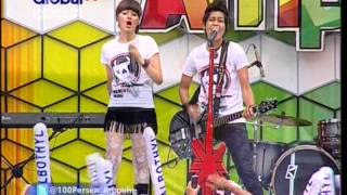 THE VIRGIN Live At 100% Ampuh (24-12-2012) Courtesy GLOBAL TV
