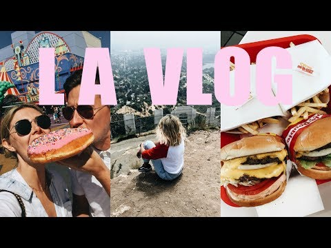 LA VLOG: Universal Studios, Hollywood Sign Hike, Palm Spring