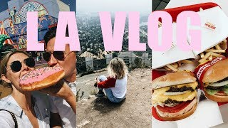 LA VLOG: Universal Studios, Hollywood Sign Hike, Palm Springs and Lots of Junk Food