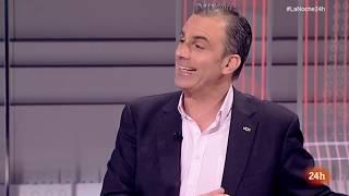 Los mejores repasos de Javier Ortega a representantes progres en La Noche del canal 24 Horas
