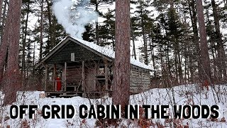 Hike-In to Old Off-Grid Ranger Cabin (Nova Scotia, Canada)