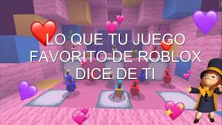 What Your Favorite Roblox Game Says About You