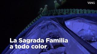 Espectáculo de luz en la Sagrada Família