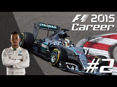F1 2015 LEWIS HAMILTON Career Mode - PART 2 Malaysian Grand Prix
