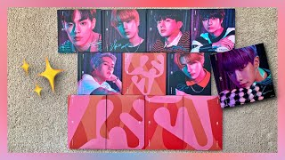 🤔💖A VERY Confused Unboxing of Monsta X 1st English Album All About Luv (All 11 Versions)