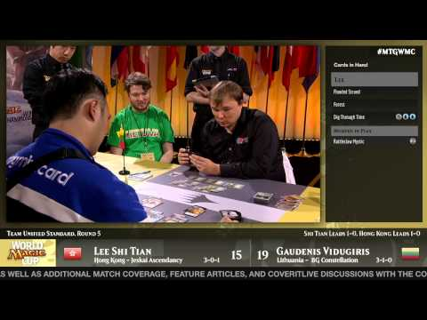World Magic Cup 2014 Round 5 (Unified Standard): Lithuania vs. Hong Kong