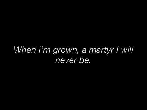 【Broadway Karkat】 MARTYR ✝ C9mplex — Lyrics