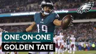 Golden Tate Discusses Life As An Eagle & More | Eagles One-On-One