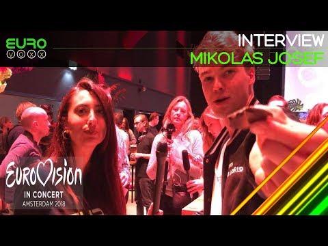 Mikolas Josef interview (Czech Republic Eurovision 2018) | Eurovision in Concert | Eurovoxx
