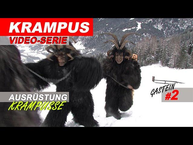 Krampus in Gastein: Die Ausrüstung der Krampus-Pass # 2 / 2018