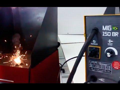 V8 Brasil - Dicas Para uma Solda Limpa e Sem Respingos com a MIG 150 BR