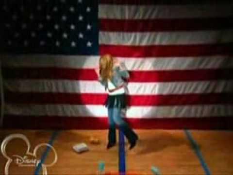 Hannah Montana - The National Anthem Star Spangled Banner