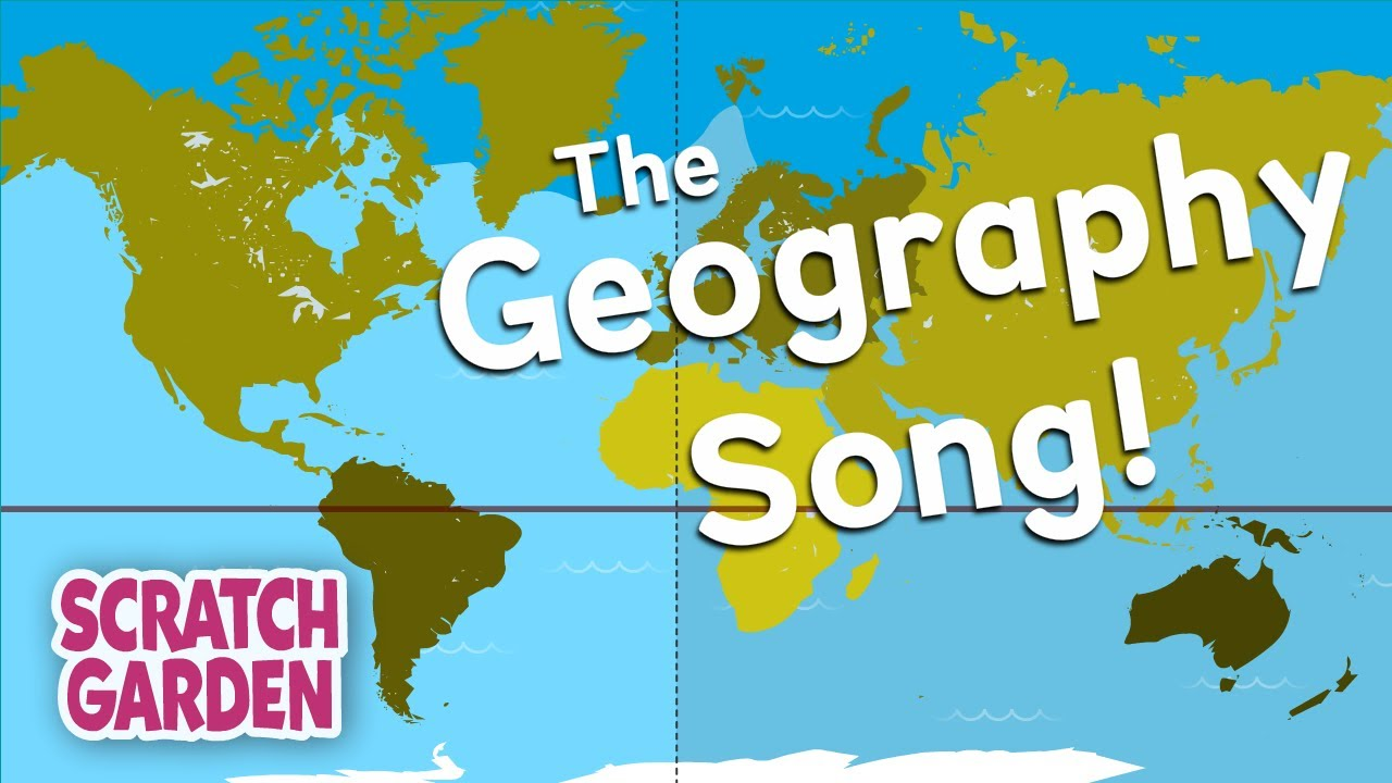 medium resolution of The Geography Song   Globe vs Map Song   Scratch Garden - YouTube