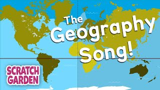 The Geography Song   Globe vs Map Song   Scratch Garden