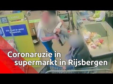 Gewelddadige coronaruzie in Rijsbergen