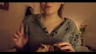 Whole Chicken ~ ASMR Relaxing Eating Sounds