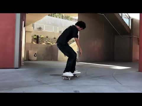 Skateboarding at San Diego city College