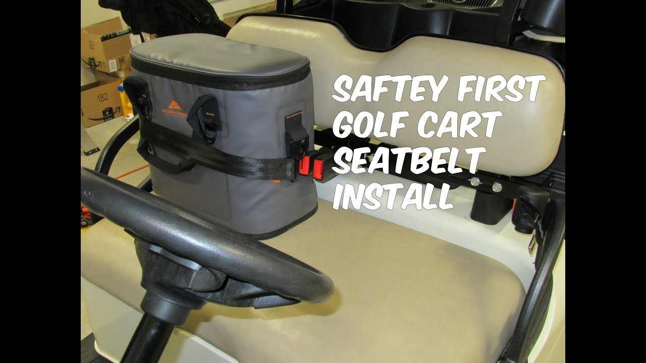 EZ GO RXV Golf Cart Seat Belt Unboxing & Install - YouTube Ezgo Golf Cart With Seat Belt on car seat belts, star golf cart seat belts, golf cart retractable seat belts, jeep seat belts, automotive seat belts, universal seat belts, golf cart safety belts, western golf cart seat belts, yamaha golf cart belts, ezgo rxv seat belts, st480 golf cart belts, ezgo lx 800, utv seat belts, golf cart rear seat belts, go cart seat belts,