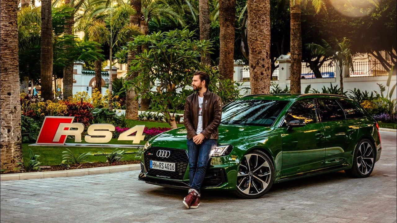 NEW Audi RS4 Avant 2018 - First Drive Video