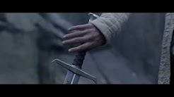 King arthur lifting of excalibur sword movie scene.