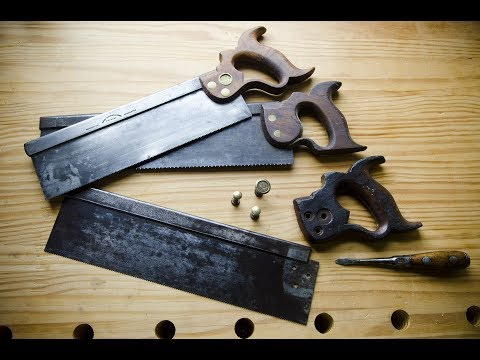 Understanding & Restoring Antique Hand Saws with Tom Calisto