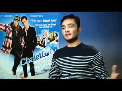 Ed Westwick interview for Clean & Clear UK and Ireland