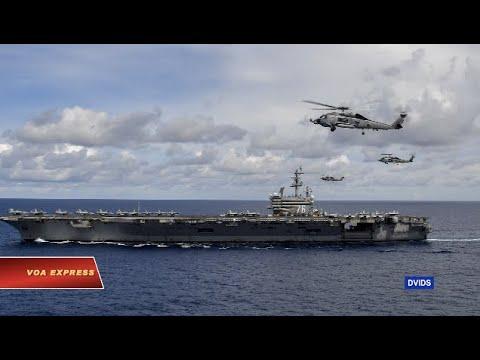 Truyền hình VOA 7/7/20: Trung Quốc chỉ trích Mỹ tập trận trên Biển Đông