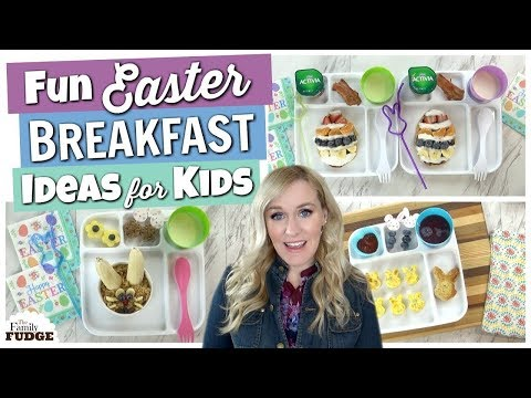 FUN Easter BREAKFAST Ideas for KIDS    Bunches of Breakfasts