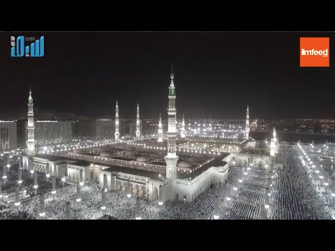 Breathtaking Drone Footage of Masjid An Nabawi Taken on 29th Night of Ramadan