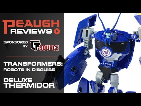 Video Review: Transfomers: Robots in Disguise - Deluxe THERMIDOR