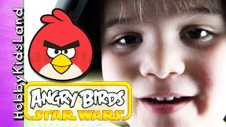 Boba Fet Star Wars + Angry Birds! Story by HobbyPig of HobbyKidsLand
