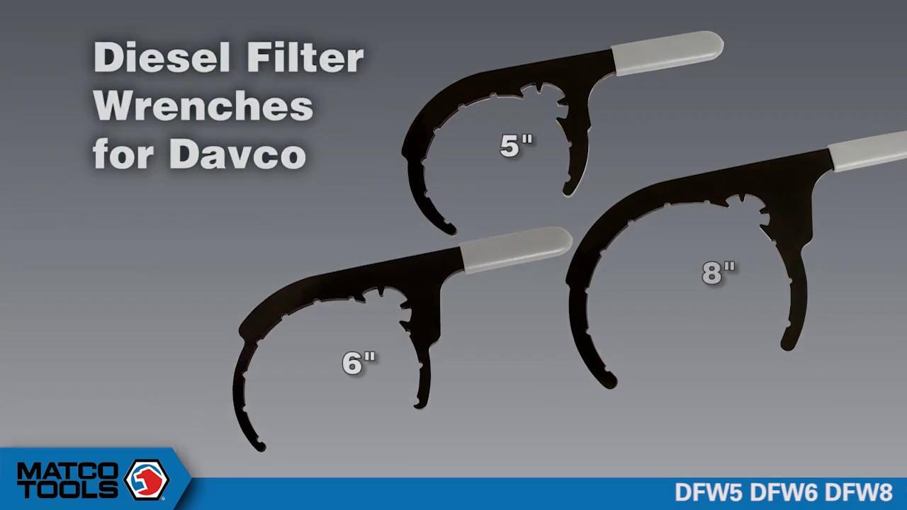 medium resolution of davco diesel filter wrench dfw5