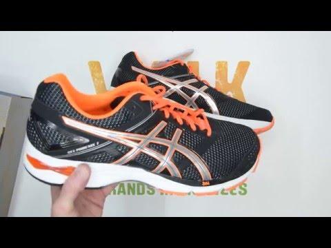 asics-gel-phoenix-7---black-/-silver-/-orange---walktall- -unboxing- -hands-on