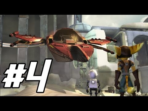 Ratchet and Clank Future: Tools of Destruction - Space Pirates Ahoy! - PART 4